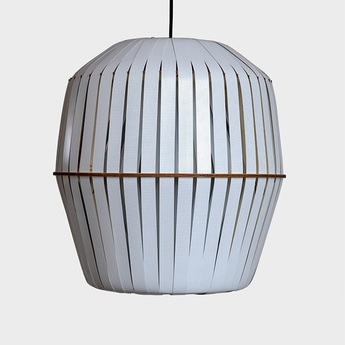 Suspension kiwi large blanc o56cm h60cm ay illuminate normal