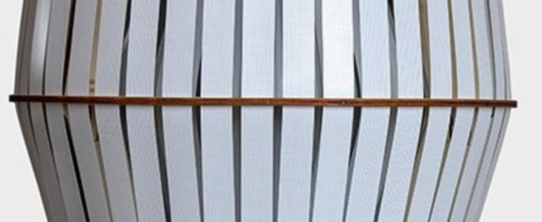 Suspension kiwi medium blanc o44cm h48cm ay illuminate normal