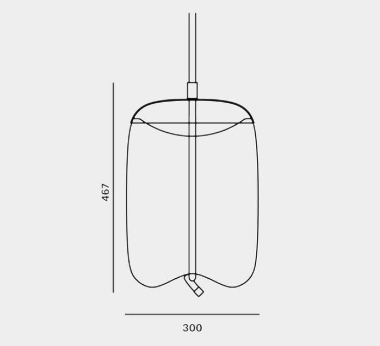 Knot cilindro  chiaramonte marin suspension pendant light  brokis pc1019 cgc516  ccs69  ccsc897  design signed nedgis 64783 product