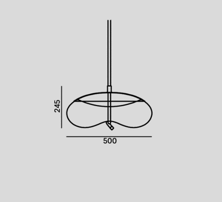 Knot disco chiaramonte marin suspension pendant light  brokis pc1017cgc38ccs69ccsc897  design signed 33204 product