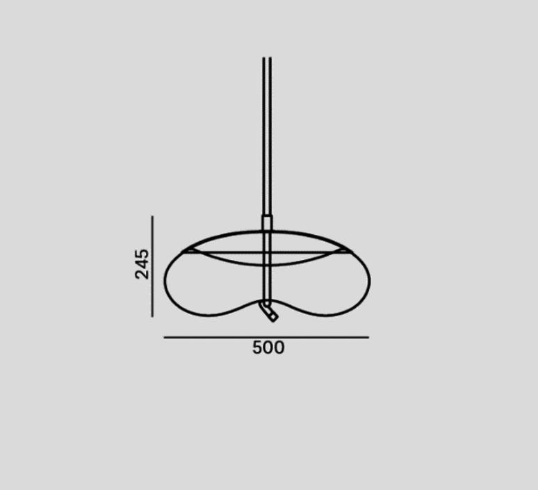 Knot disco s chiaramonte marin suspension pendant light  brokis pc1037 cgc538 cgsu66 ccs69 ccsc897 clr1939 ceb1910 cedv1461  design signed 53116 product