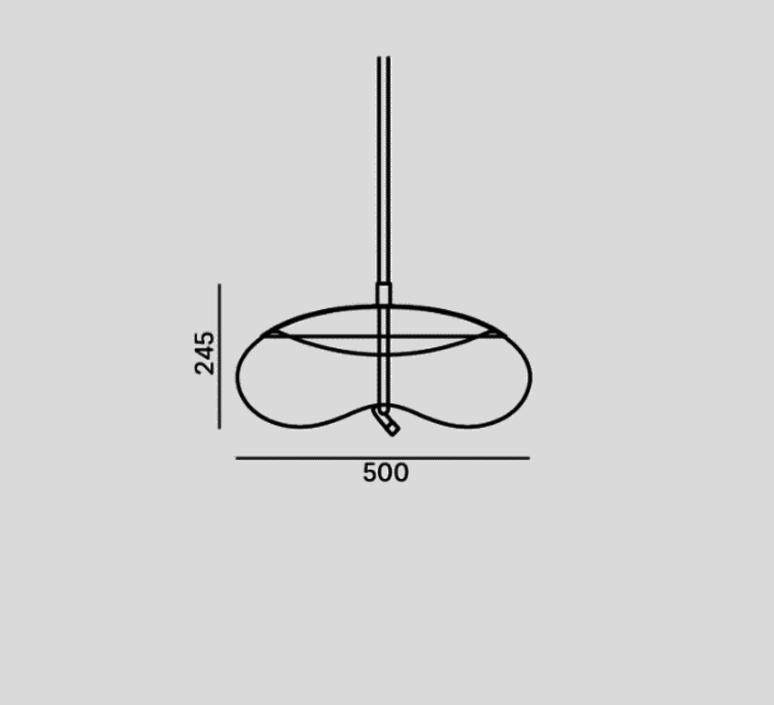 Knot disco chiaramonte marin suspension pendant light  brokis pc1017cgc23ccs584ccsc896  design signed 33212 product