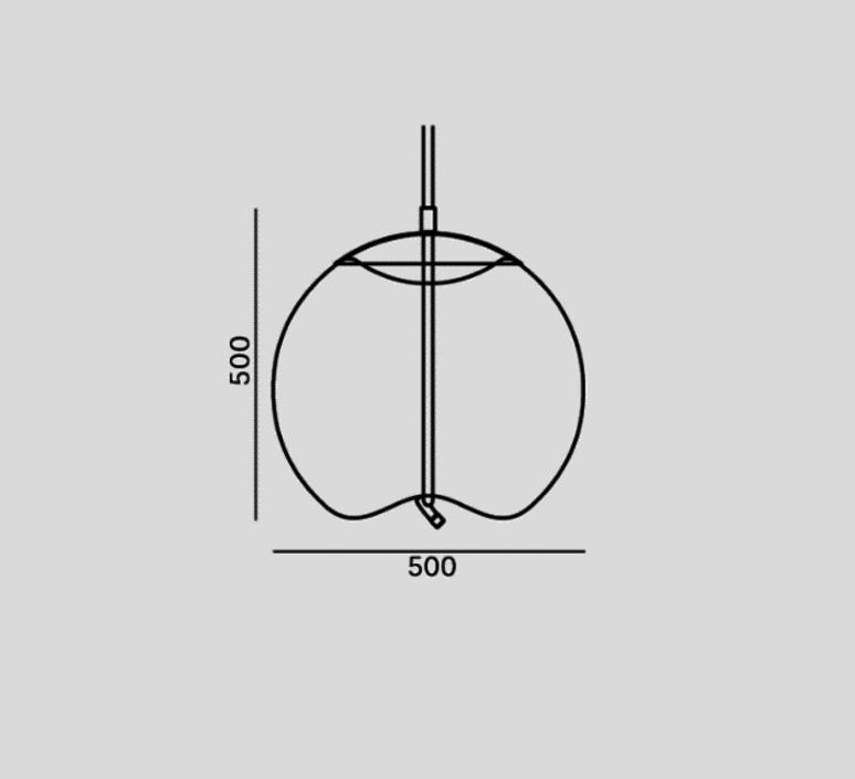 Knot sfera chiaramonte marin suspension pendant light  brokis pc1016cgc38ccs584ccsc896  design signed 33202 product