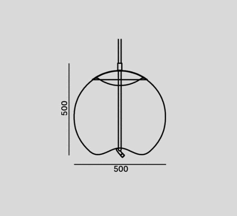 Knot sfera chiaramonte marin suspension pendant light  brokis pc1016cgc516ccs584ccsc896  design signed 83385 product