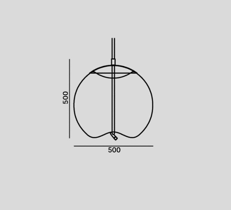 Knot sfera chiaramonte marin suspension pendant light  brokis pc1016cgc23ccs584ccsc896  design signed 98454 product