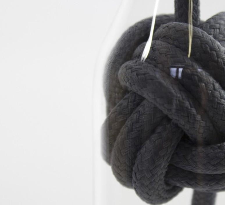 Knot small studio vitamin suspension pendant light  vitamin knot small blanc  design signed 43069 product