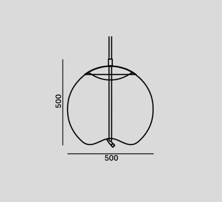 Knot sphera s chiaramonte marin suspension pendant light  brokis pc1035 cgc538 cgsu66 ccs69 ccsc897 clr1939 ceb1910 cedv1461  design signed 53105 product