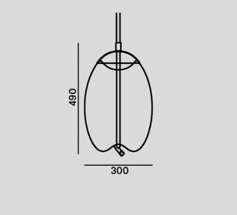 Knot uovo chiaramonte marin suspension pendant light  brokis pc1018cgc38ccs68ccsc974  design signed 33223 product