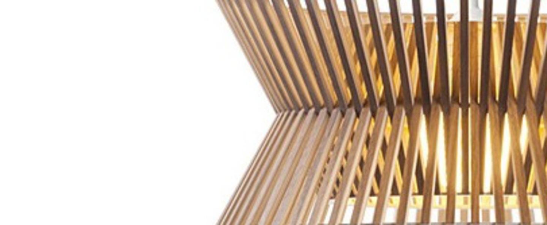 Suspension kontro 6000 bois marron led o45cm h21cm secto design normal