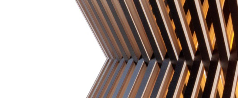 Suspension kontro 6000 noir lamine led o45cm h21cm secto design normal