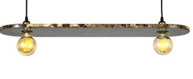 Suspension kvg 16 03 marbre brun l20cm h25cm serax normal