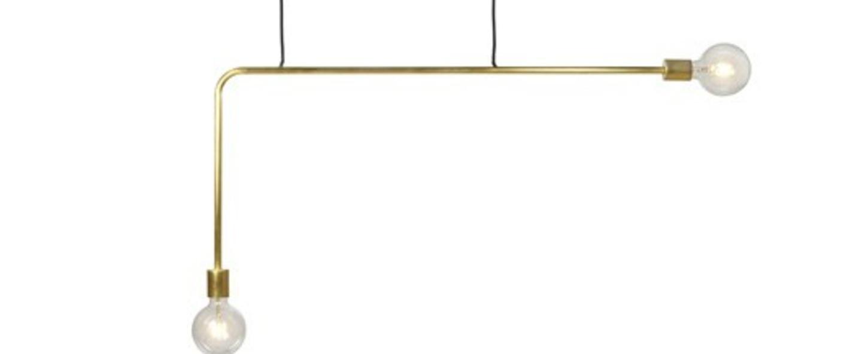 Suspension kvg 18 03 cuivre l110cm h55cm serax normal