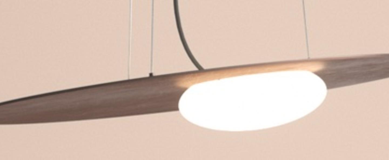 Suspension kwic bronze led 2700k 2151lm o48cm hcm axo light normal