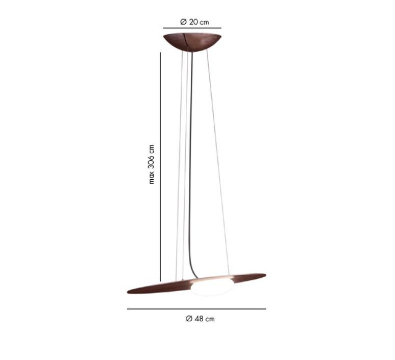Kwic serge et robert cornelissen suspension pendant light  axolight spkwic48brxxled  design signed nedgis 109906 product