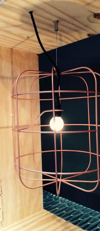 Suspension la cage pastel o30cm h34 4cm dark normal