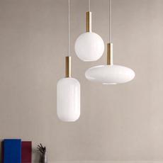 Laiton et sphere  suspension pendant light  ferm living 5107 5148  design signed 36797 thumb