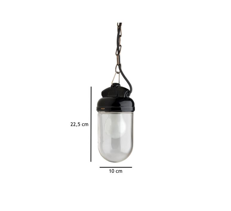 Lampe etanche porcelaine glass 004  suspension pendant light  zangra light o 023 b 004  design signed 51344 product