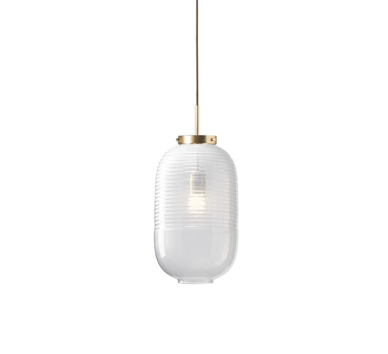 Lantern jan plechac et henry wielgus  suspension pendant light  bomma 1 80 95130 1 00wht 505 lpbr  design signed 54232 product