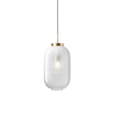Lantern jan plechac et henry wielgus  suspension pendant light  bomma 1 80 95130 1 00wht 505 lpbr  design signed 54232 thumb