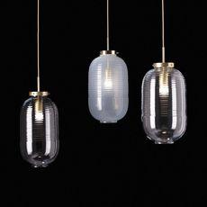 Lantern jan plechac et henry wielgus  suspension pendant light  bomma 1 80 95130 1 00wht 505 lpbr  design signed 54246 thumb