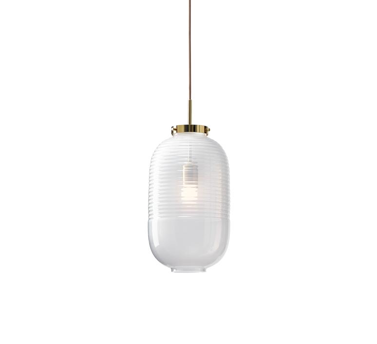 Lantern jan plechac et henry wielgus  suspension pendant light  bomma 1 80 95130 1 00wht 505 pbr  design signed 54235 product