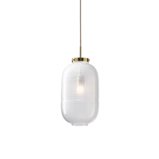 Lantern jan plechac et henry wielgus  suspension pendant light  bomma 1 80 95130 1 00wht 505 pbr  design signed 54235 thumb