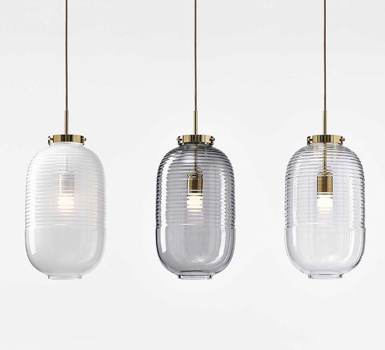 Lantern jan plechac et henry wielgus  suspension pendant light  bomma 1 80 95130 1 00wht 505 pbr  design signed 54242 product