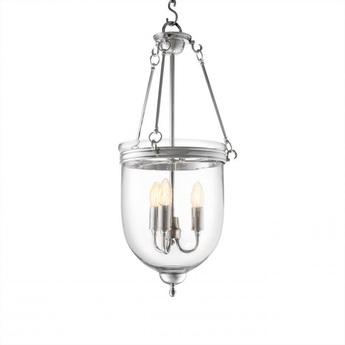 Suspension lantern cameron s argent o32cm h70cm eichholtz normal
