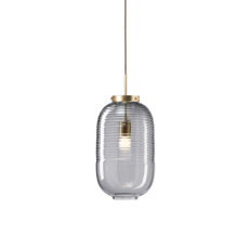 Lantern jan plechac et henry wielgus  suspension pendant light  bomma 1 80 95130 1 00smk 505 lpbr  design signed 54225 thumb
