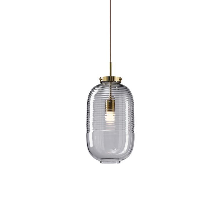 Lantern jan plechac et henry wielgus  suspension pendant light  bomma 1 80 95130 1 00smk 505 pbr  design signed 54229 product
