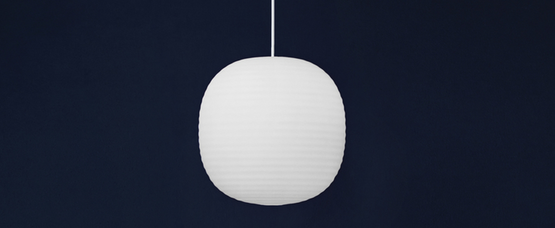 Suspension lantern medium blanc o300cm hcm new works normal