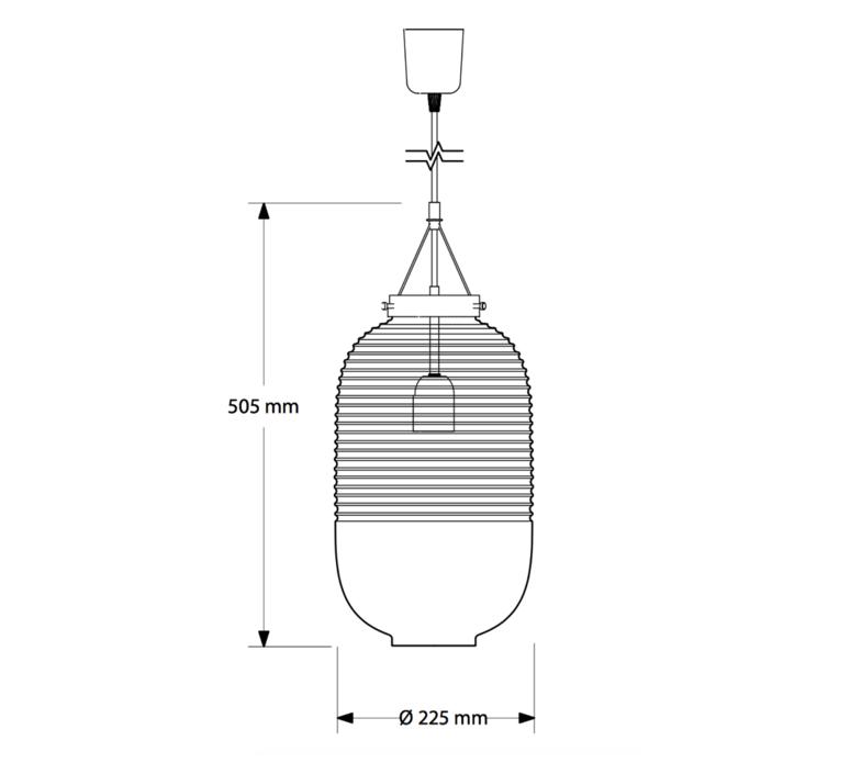 Lantern jan plechac henry wielgus suspension pendant light  bomma 1 80 95130 1 00000 505 bc   design signed 39136 product