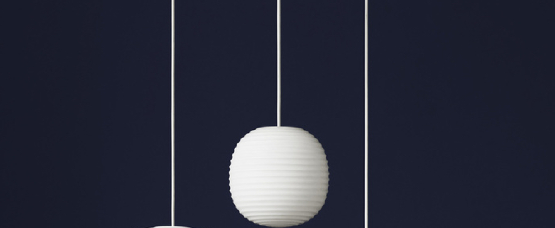 Suspension lantern small blanc o200cm hcm new works normal