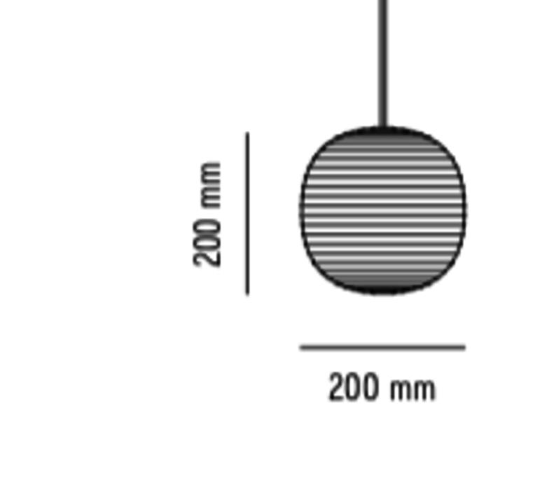 Lantern small anderssen voll suspension pendant light  new works 20610  design signed nedgis 63535 product