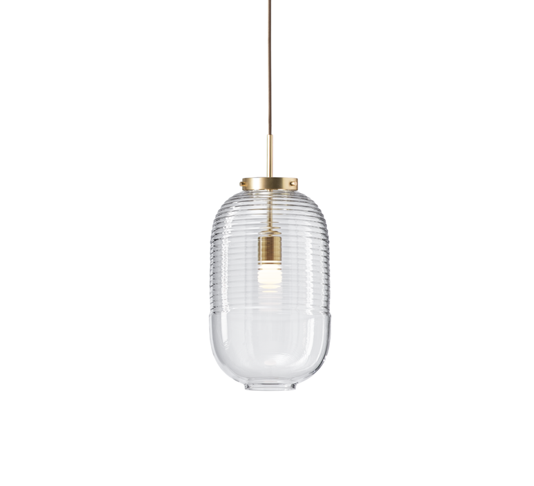 Lantern jan plechac et henry wielgus  suspension pendant light  bomma 1 80 95130 1 00000 505 lpbr  design signed 54219 product