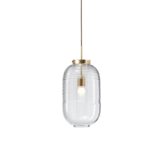 Lantern jan plechac et henry wielgus  suspension pendant light  bomma 1 80 95130 1 00000 505 lpbr  design signed 54219 thumb