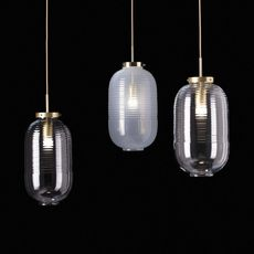 Lantern jan plechac et henry wielgus  suspension pendant light  bomma 1 80 95130 1 00000 505 lpbr  design signed 54243 thumb