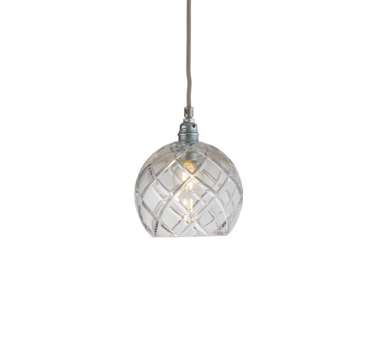 Large check crystal rowan 15 5 susanne nielsen suspension pendant light  ebb and flow la101533  design signed nedgis 72608 product