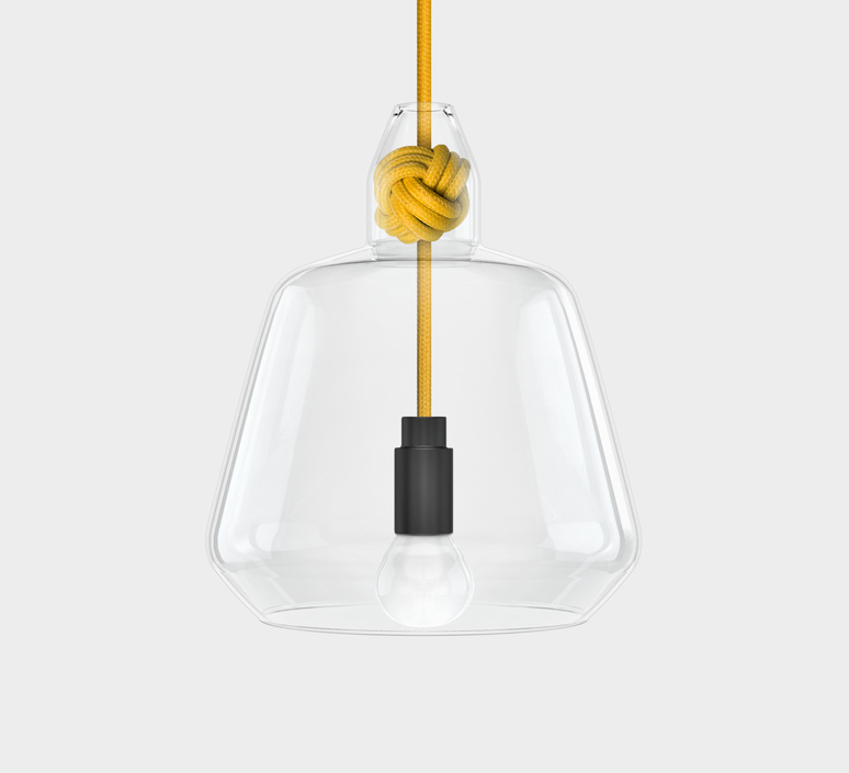 Large knot  studio vitamin vitamin large knot yellow luminaire lighting design signed 34852 product
