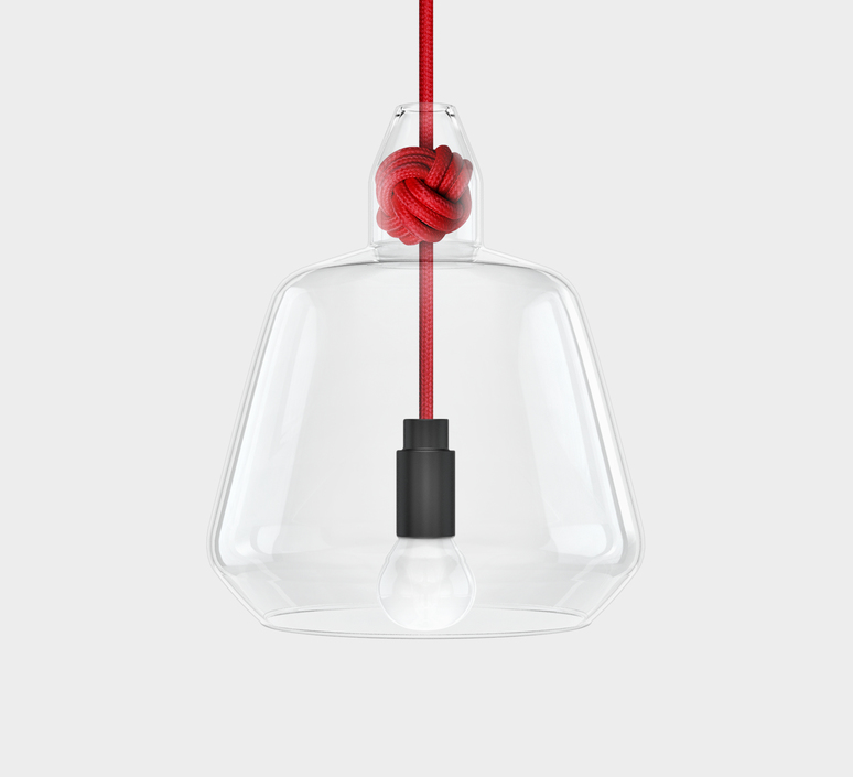 Large knot  studio vitamin vitamin large knot red luminaire lighting design signed 34851 product