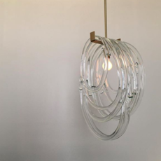 Lasso double  suspension pendant light  sklo studio lt137b  design signed 51393 thumb