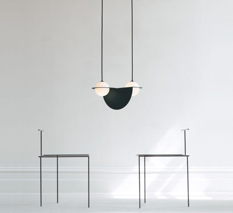 Laurent 01 studio lambert fils suspension pendant light  lambert fils lrt01awbkbkbkbk  design signed nedgis 114472 product