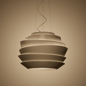 Suspension le soleil bronze o62cm h42cm foscarini normal