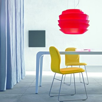 Suspension le soleil rouge o62cm h42cm foscarini normal
