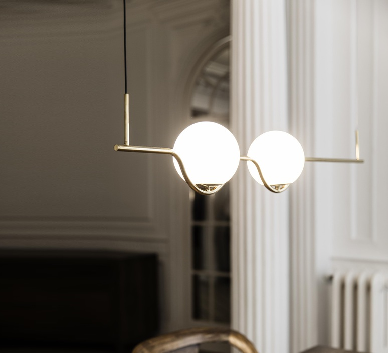 Le vita nahtrang design suspension pendant light  faro 29691  design signed nedgis 63320 product