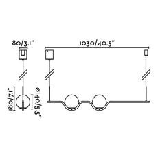 Le vita nahtrang design suspension pendant light  faro 29691  design signed nedgis 63322 thumb