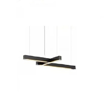 Suspension led 40 4 noir l102cm h4cm tunto normal