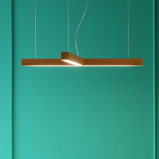 Led 40 t mikko karkkainen suspension pendant light  tunto led40 t noyer  design signed 46236 thumb