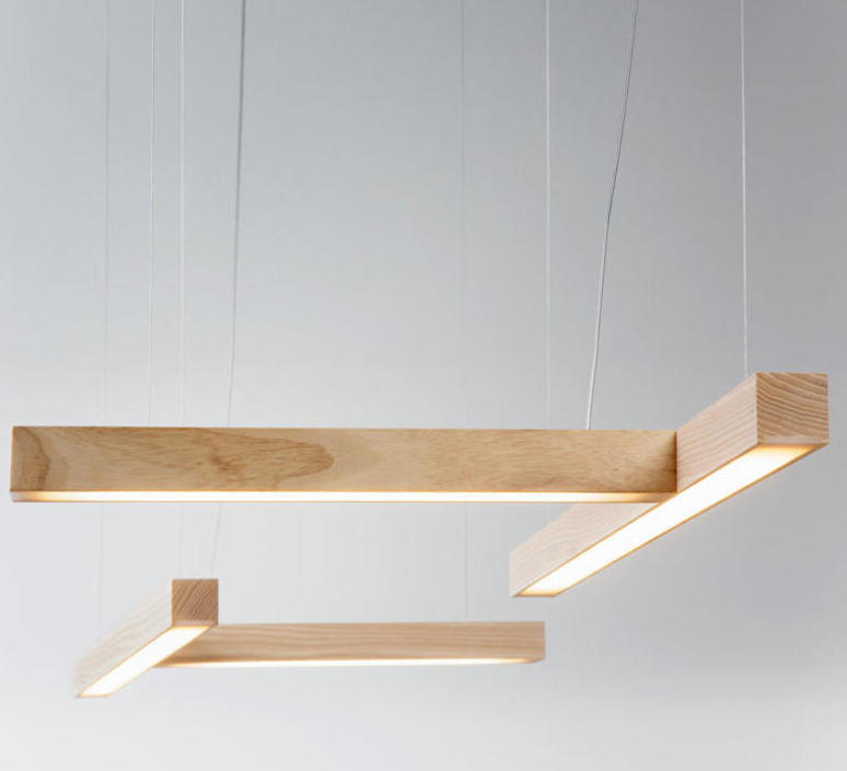 Led 40 t mikko karkkainen suspension pendant light  tunto led40 t noyer  design signed 46238 product