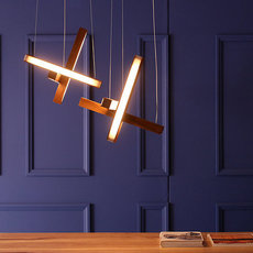 Led cross 40 mikko karkkainen suspension pendant light  tunto ledcross noyer  design signed 46216 thumb